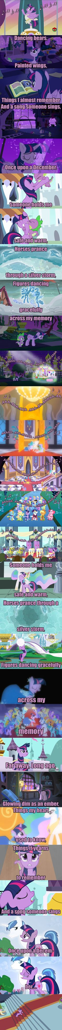 Twilight Sparkle. Once Upon A December. My Little Pony, Don Bluth's Anastasia