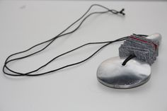Collana in metallo e cartoncino colorato JUIL - Made in Italy