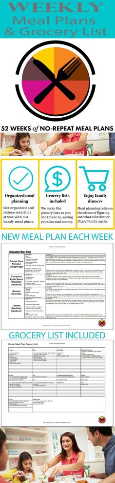 Get meal plans and g