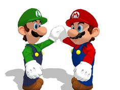 SMG Mario and Luigi for MMD by Sticklover4 on DeviantArt