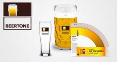 """Beertone""-Fächer zeigt Farben verschiedener Biere"