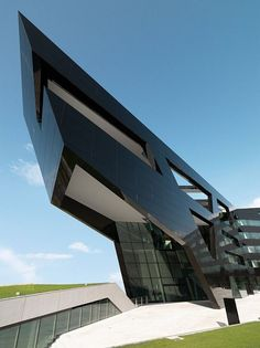 The Black Facade MPO9 Headquarters by GSarchitects