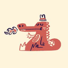 The works of illustrator, designer & graphic artist Bart Aalbers Spot Illustration, Dragon Illustration, Graphic Design Illustration, Cartoon Illustrations, Graphic Art, Cute Monsters Drawings, Character Concept, Character Design, Bad Drawings