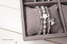 Freundschaftsbänder - ♥ Perlenarmband als SET  ♥ 3-teilig - ein Designerstück von NaniSchmuck bei DaWanda