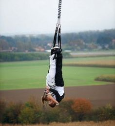 bungee jump then upside down kiss with my future husband? yes, please. so romantic ;)