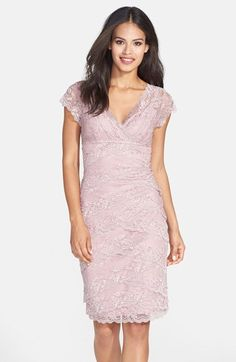 Marina Tiered Lace Dress (Regular & Petite) available at #Nordstrom