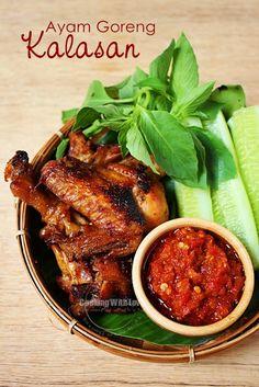 Ayam goreng kalasan (Indonesian Food)