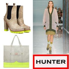 Let this peppy collection by Hunter Boots cure your gloomy weather blues.