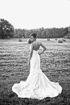 Outdoor wedding. Country wedding. Bridal session. Outdoor bridal pictures.