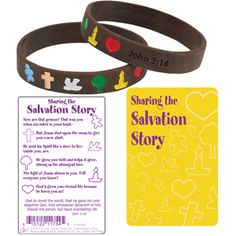 LOVE LOVE LOVE these! $.99 or $.79 when you buy 24.  Sharing the Salvation story from CTAinc.com.  We are using these for our church outreach in neighborhoods.  I also use them for tutoring students, AWANA and VBS.