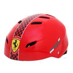 Cascos de seguridad para el deporte al aire libre cascos de bicicleta pp protección de la cabeza del deporte de la cáscara FAH50 ferrari