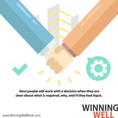 Show respect, communicate well, and most people will work with you. #winningwell