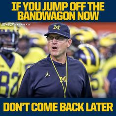 Darn right! You either bleed blue and maize or you don't! Go Blue! Win or lose Michigan Wolverines Football, Packers Football, Ohio State Buckeyes, Lsu, Nfl Memes, Football Memes, College Football, Football Presents, Michigan Go Blue