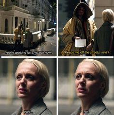 Sherlock. Mary Morstan.