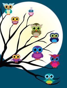 Little Owlets from http://owladay.wordpress.com