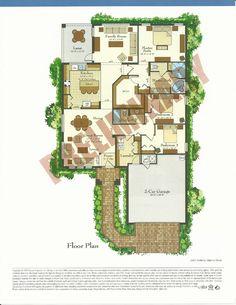 Bellalago Lucca Floor Plans in Kissimmee FL