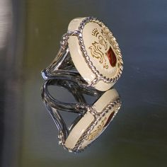 Silver, white gold and zircon rings by Nadia Zenato Jewelry
