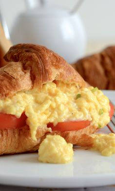 Get perfect soft and creamy scrambled eggs every time with this really simple recipe.
