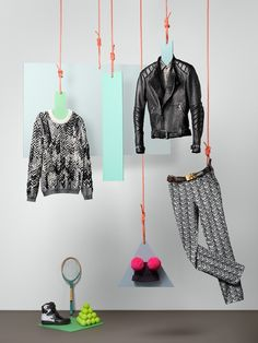 Perfect image, many item, each of them can have hotspot linked to online store if used in  Lookbook Cloud