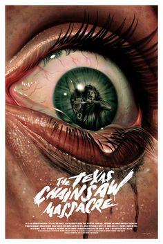 Jason Edmiston – The Texas Chainsaw Massacre   Geek Art – Art, Design, Illustration & Pop Culture !   Art, Design, Illustration & Pop Culture !