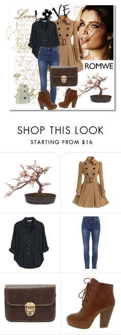 """""""Romwe 1"""" by aida-1999 ❤ liked on Polyvore featuring Dolce & Gabbana Fragrance, Nearly Natural, Xirena, women's clothing, women's fashion, women, female, woman, misses and juniors"""