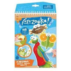 Idée cadeau pour l'imagination des enfants  Kit créatif Artzooka : Animaux Clingzooka 9.98€ LIVRAISON GRATUITE Expédié sous 12/24h  http://www.priceminister.com/offer?action=desc&aid=2249869378&productid=259457285