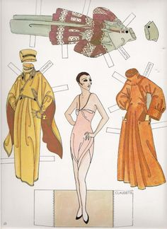 Erte Fashion dolls of the Twenties _ Susan Johnston  - Dover Books