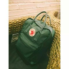 Frost Green Kanken backpack