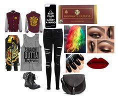 """""""Hogwarts"""" by wolfschaffer on Polyvore featuring Miss Selfridge, CellPowerCases, harrypotter and hogwarts"""