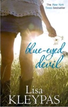 Book 37-Blue-Eyed Devil by Lisa Kleypas; A book with a colour in the title. Completed 12/08/15. #2015readingchallenge