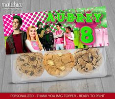 This item is unavailable Zombie Birthday Parties, Zombie Party, 24th Birthday, Girl Birthday, Birthday Ideas, Zombie Cookies, Thank You Bags, Zombie Disney, Invitations