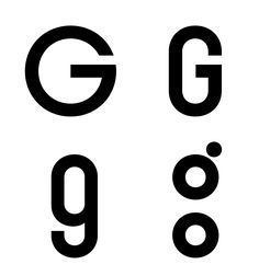double story lower case g | The g – despite cursive shapes in the ...