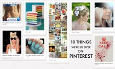 10 Things We're So Over on Pinterest - geek Mom nails it.  Luckily, I only see a few of these things.
