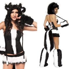 Insomnia Exclusive Lingerie Boutique | Sexy Fashion Skunk Design Costume