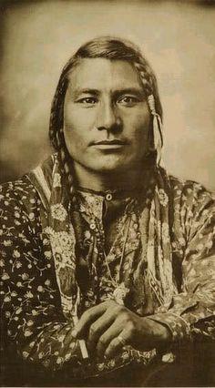 Hail Stone/Stump Horn Bull, n.d. (early 1890s?) [Crow] Photo by Laton Huffman