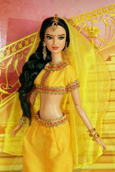 Dolls of the World India Barbie by Mattel (2012)