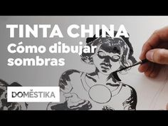 Illustration Tutorial: How to draw shadows with India ink - Sergio Bleda - Domestika Pencil Drawings, Illustration, Anime, Ink, Painting, Theory, Youtube, Blog, Chinese