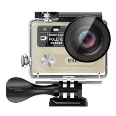EKEN H8R Sport Action Camera DV VR 4K Ultra HD Dual Screen WiFi 2.4G Controller  Worldwide delivery. Original best quality product for 70% of it's real price. Buying this product is extra profitable, because we have good production source. 1 day products dispatch from warehouse. Fast &...