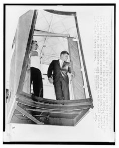 John F. Kennedy being hoisted into Air Force One in a cherry-picker. He had just had back surgery. 1961