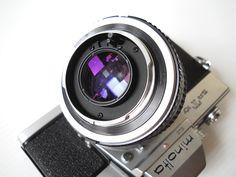 Back of Coating Rokkor-PF 50mm f/1.7 lens