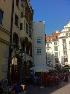 Ayinger Hof, Munich, Germany (been) - local Bavarian fare