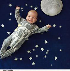 space baby kids ink sleeper