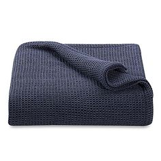 Kenneth Cole Reaction Home Waffle Blanket - $149.99 on sale - for the edge of the bed