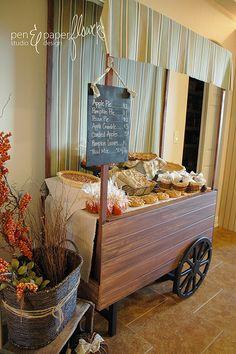 Baked Goods Market Cart