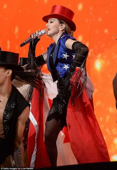 Madonna kicks off her delayed Rebel Heart tour with a passionate show #dailymail
