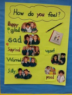 The Pre-Kindergarten students are learning to put add feelings and emotion to their stories.