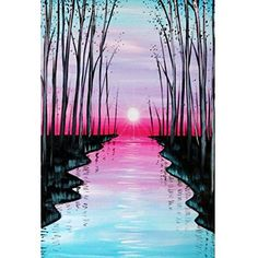 Search our event calendar and find Paint Nite event near Seattle, WA, United States Easy Canvas Painting, Simple Acrylic Paintings, Acrylic Art, Canvas Art, Oil Pastel Art, Landscape Paintings, Amazing Art, Watercolor Paintings, Event Calendar