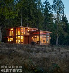 Lindal Elements home in British Columbia.