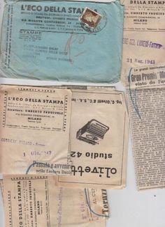 Ritagli Storici del 1943 - Olivetti