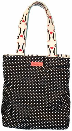 Bungalow360 Eva Penguin Reversible Vegan Tote Bag